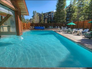 Breckenridge condo photo - Access to the Upper Village Swimming Pool