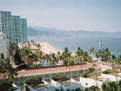DOWNTOWN PUERTA VALLARTA AND SIERRA MADRE MTNS.