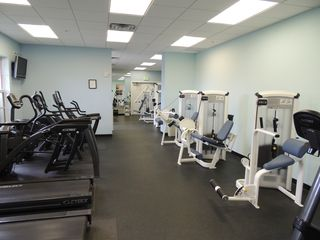 Ruskin townhome photo - Large Gym Facing the swimming pool & hot tab