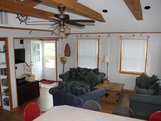 Oak Harbor cottage photo - View from Covered Porch. New Deck Built off of covered porch for summer 2013!!