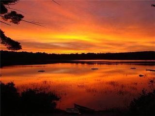 Conway house photo - Enjoy the sunrise over the water from this great vacation rental!