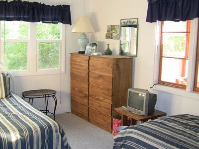Mullett Lake house rental - Second bedroom