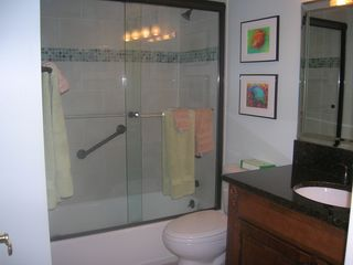 Sanibel Island condo photo - Guest Bathroom- Fun n' Colorful