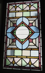 100-year old stained glass