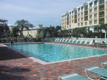 Siesta Key villa rental - Large heated pool to enjoy!