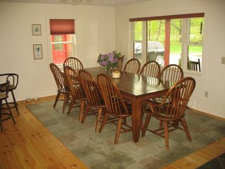 Bridgewater Corners farmhouse photo - Dining room Seats 12