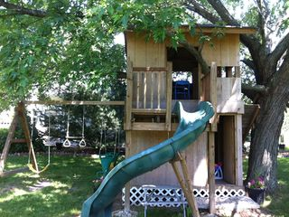 Williams Bay house photo - Tree house perfect for the kids. FUN FUN!!!!