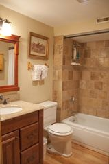 Breckenridge house photo - Full Bathroom on lower level is located next to the lower level Bedrooms