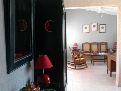 Entrance Hall and Sitting Room