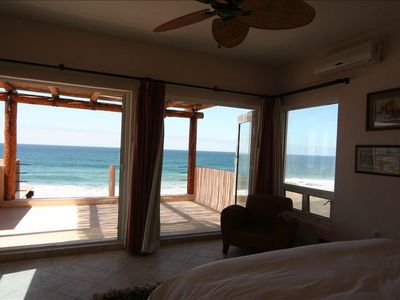 Wake up to this view. Each master suite overlooks the ocean.