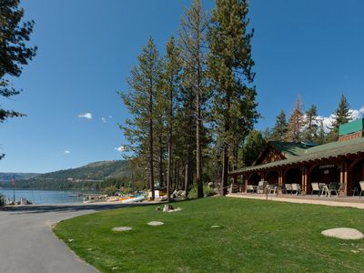 Private Tahoe Donner Beach.  Boat launch, boat rentals, food, picnic tables.