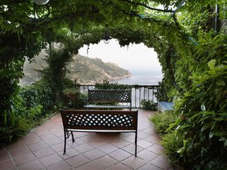 Ravello villa photo - garden