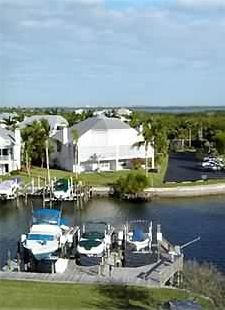 Fort Myers Beach condo rental - View off the lanai and dining room