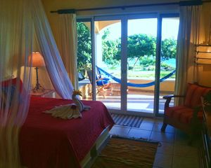 Isla Mujeres house photo - One of 4 identical bedrooms- all bedrooms have water views