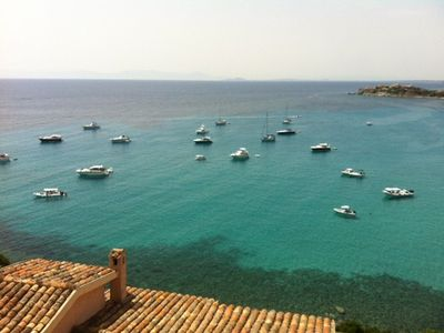 Summer panorma from villa le peonie
