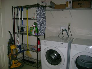 Shawnee house photo - Washer/Dryer, Iron and Iron board available for renters.