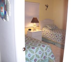 Sanibel Island house photo - Our third bedroom is equipped with two twin beds