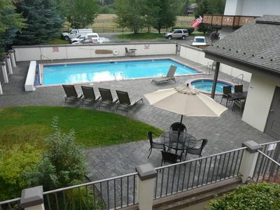 Enjoy the pool and hot tub year round!