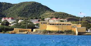 St. Croix house photo - Fort Christiansted on the way back from visiting Buck Island.