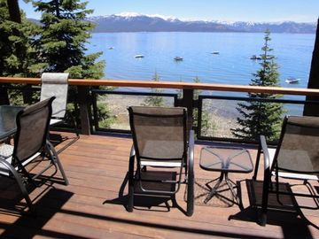 Carnelian Bay townhome rental - Take in the amazing mountain & lake views!