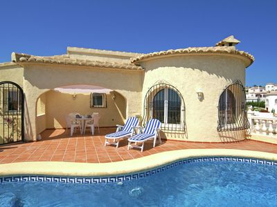 Charming villa with private pool and unique view in Benitachell