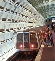 Downtown - Washington DC apartment photo - DC Blue line metro is just a 6-7 minute walk from the apartment
