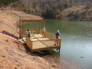 Branson condo photo - No license required at our private lake at Notch Estates
