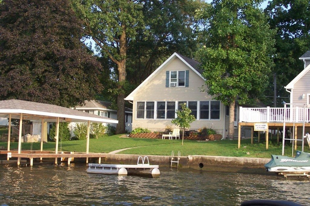 lake shafer waterfront cottage 4 bedrooms homeaway