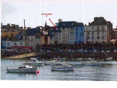 APARTMENT AND TERRACE SEA VIEW ON DOUARNENEZ BAY
