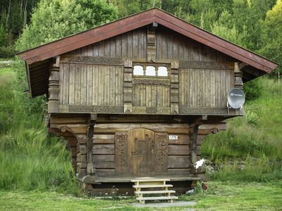 Storehouse in stunning surroundings, perfect starting point for nature walks / fishing