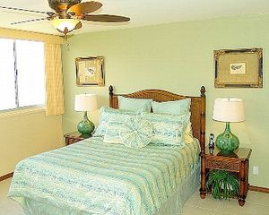 Kahana condo photo - Bright & cheerful Master Bedroom with queen-sized bed.