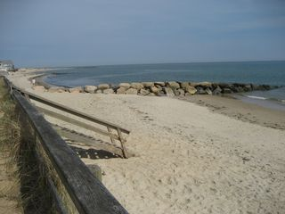 Dennisport cottage photo - Private Nantucket Sound beach