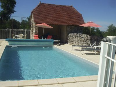 Authentic house with swimming pool and stunning views in France