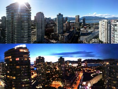 Spectacular 270 Degree Panoramic Views of Downtown Vancouver