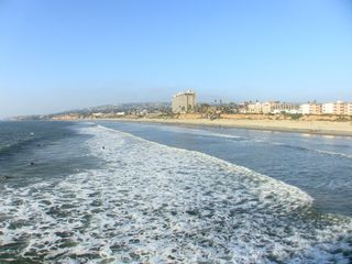 Pacific Beach condo photo - VIEW NORTH TOWARDS LA JOLLA FROM PIER