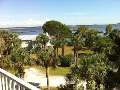 Weeki Wachee house rental - Bay View from Master Bedroom Deck