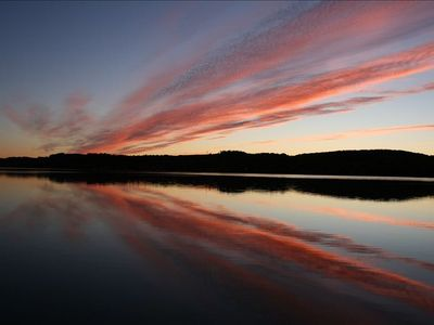 Lake Leelanau house rental - Breathtaking Michigan sunsets