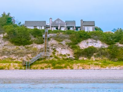 View of our home from the beach.