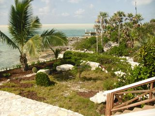 Great Exuma cottage photo - Rock Gargen looking South West