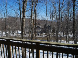 Jay Peak condo photo - off deck