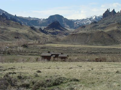 Cody barn rental - Looking at Stagecoach River Ranch