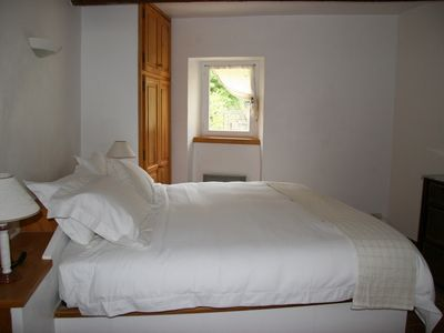 One of the three spacious bedrooms