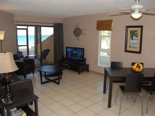 Grand Cayman condo photo - Living room with ocean view