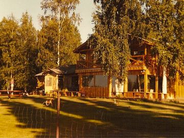 Fairbanks house rental - Summer, a favorite time of year. The house faces the Chena River.