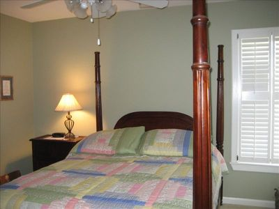 Harbor Island house rental - 3rd bedroom, Queen bed