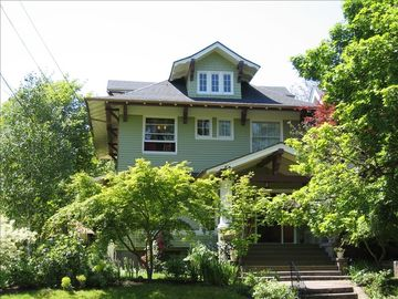 Irvington apartment rental - Front of the House