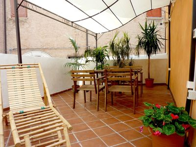 newly renovated apartment in the historic medieval center of Ferrara