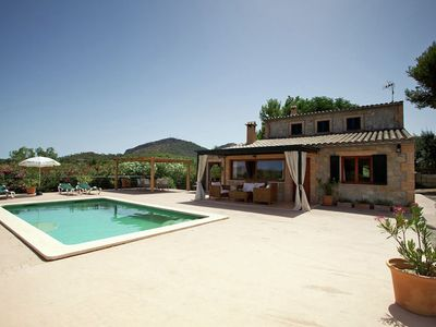 Comfortable holiday home with private pool near the beach in Alcudia, Mallorca