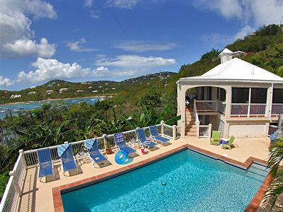 Chocolate Hole villa rental - Welcome to Calypso del Sol - a great villa with a great pool and great views!