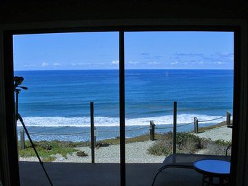 Solana Beach condo rental - View from Living room